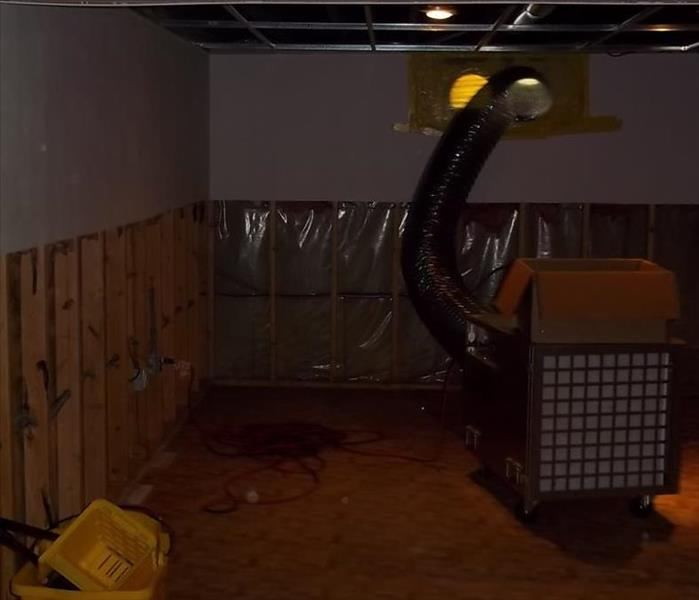 Mold Removal in Basement After