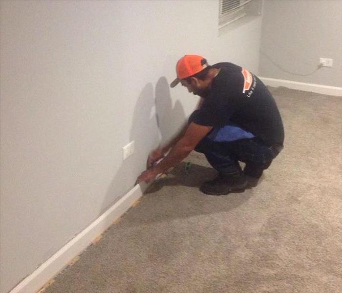 Baseboard Removal  Before