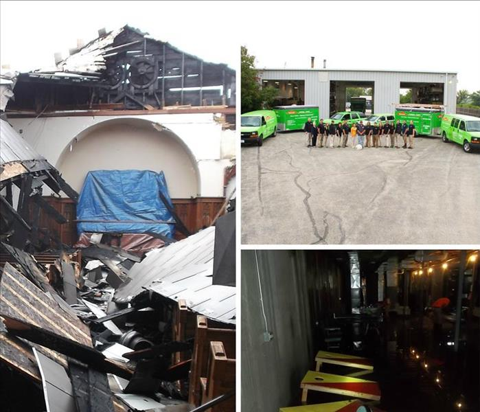 Storm Damage When Storms or Floods hit Kendall County & Streamwood, Bartlett and West Chicago , SERVPRO is ready!