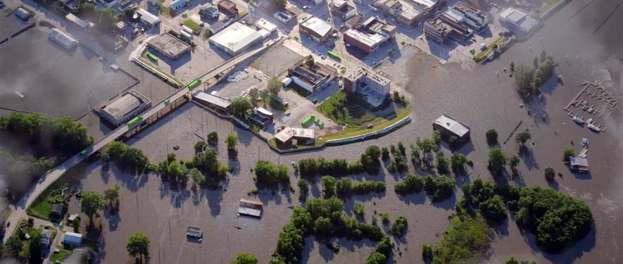 Streamwood, IL commercial storm cleanup